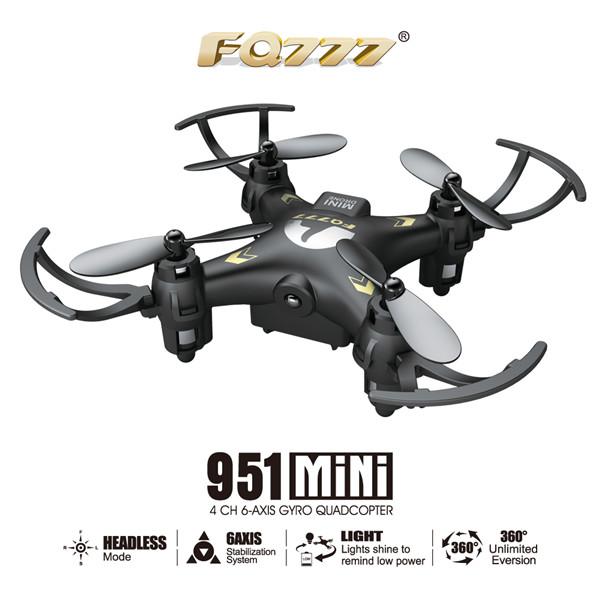 FQ777-951 FQ777 951 MINI Headless Mode 2.4G 4CH 6 Axis RC Quadcopter RTF
