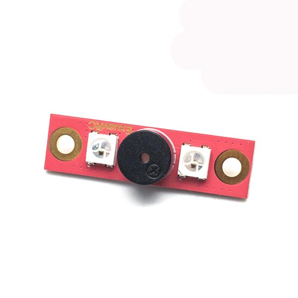 Exuav 6V Led Buzzer Module 28mm Holes for Flytower Flight Controller 2.2g