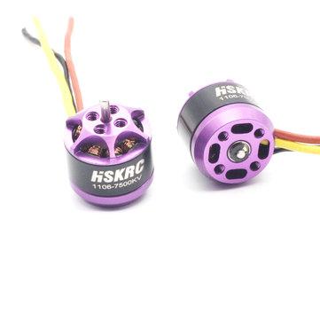 HSKRC 1106 7500KV Micro Brushless Motor 2-3S For RC Drone FPV Racing Multi Rotor