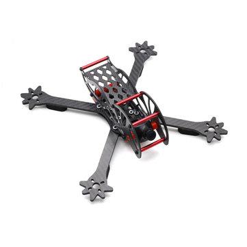 HSKRC Datouyi250 250mm 3K Carbon Fiber 4mm Arm FPV Racing Frame Kit for RC Drone