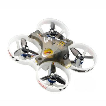 KINGKONG/LDARC TINY GT8 87.6mm FPV Racing Drone Betaflight F3 10A Blheli_S 800TVL Cam 5.8G 25mW 2S