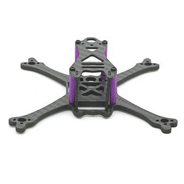 Skystars Bolt X120 120mm Wheelbase 3mm Arm Carbon Fiber Frame Kit for RC Drone FPV Racing