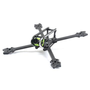 SKYSTARS Edge 220mm FPV Racing Frame Kit 6mm Arm Supports Caddx Turbo S1 RunCam Swift Mini 2 Camera