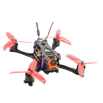 SKYSTARS Little Bolt 120mm FPV Racing Drone PNP F4 Flight Controller OSD 20A Blheli_S ESC 600TVL Cam