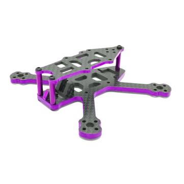 SPC 95X 95mm 3K Full Carbon Fiber 3mm Arm Frame Kit for RC FPV Racing Drone