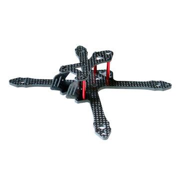 SPC Maker 140X 140mm Wheelbase 3K Carbon Fiber FPV Racing Frame Kit 26g