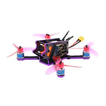 SPC MAKER S125 FPV Racing Drone PNP Omnibus F4 20A Blheli_S ESC Runcam Split Mini 5.8G 40CH VTX