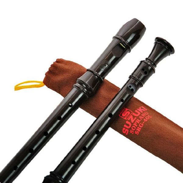 Musical Instrument SRG-405 German 8 holes Clarinet Soprano Recorder