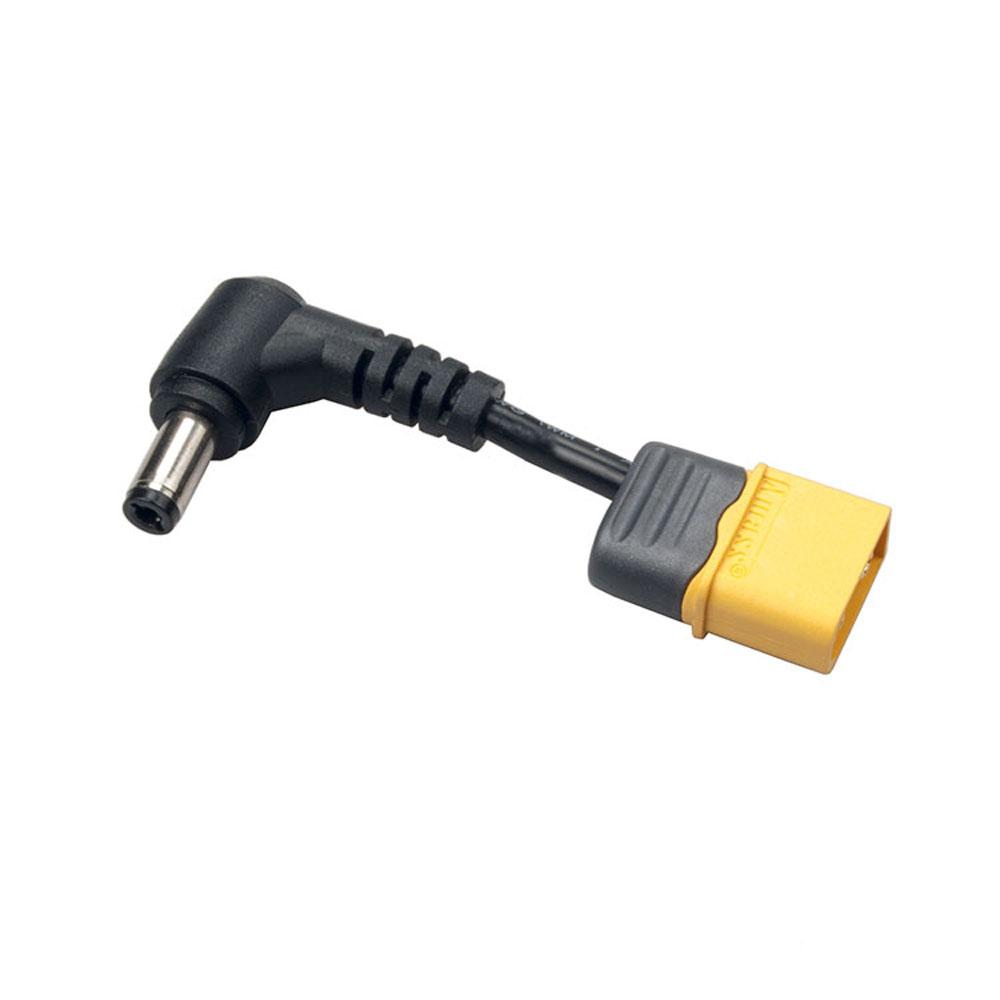 RJXHOBBY XT60 Male Plug DC 5.5mm*2.5mm*20mm Male Lipo Battery Adapter for FPV Fatshark Goggles