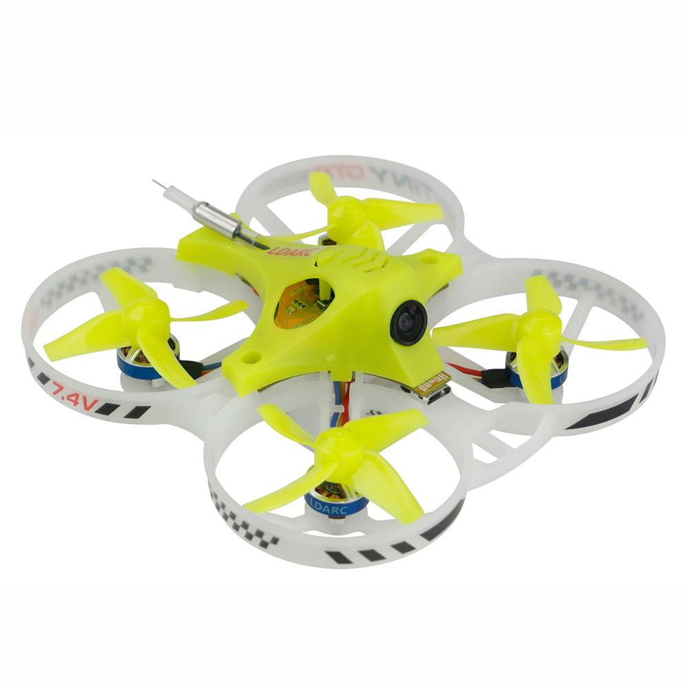 KINGKONG/LDARC TINY GT8 2019 V2 2S FPV Racing Drone Betaflight F3 10A Blheli_S 800TVL Cam 5.8G 25mW VTX 2S