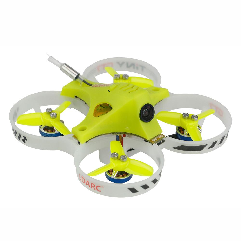 KINGKONG/LDARC TINY GT7 2019 V2 2S FPV Racing Drone Betaflight F3 10A Blheli_S 800TVL Cam 5.8G 25mW VTX 2S