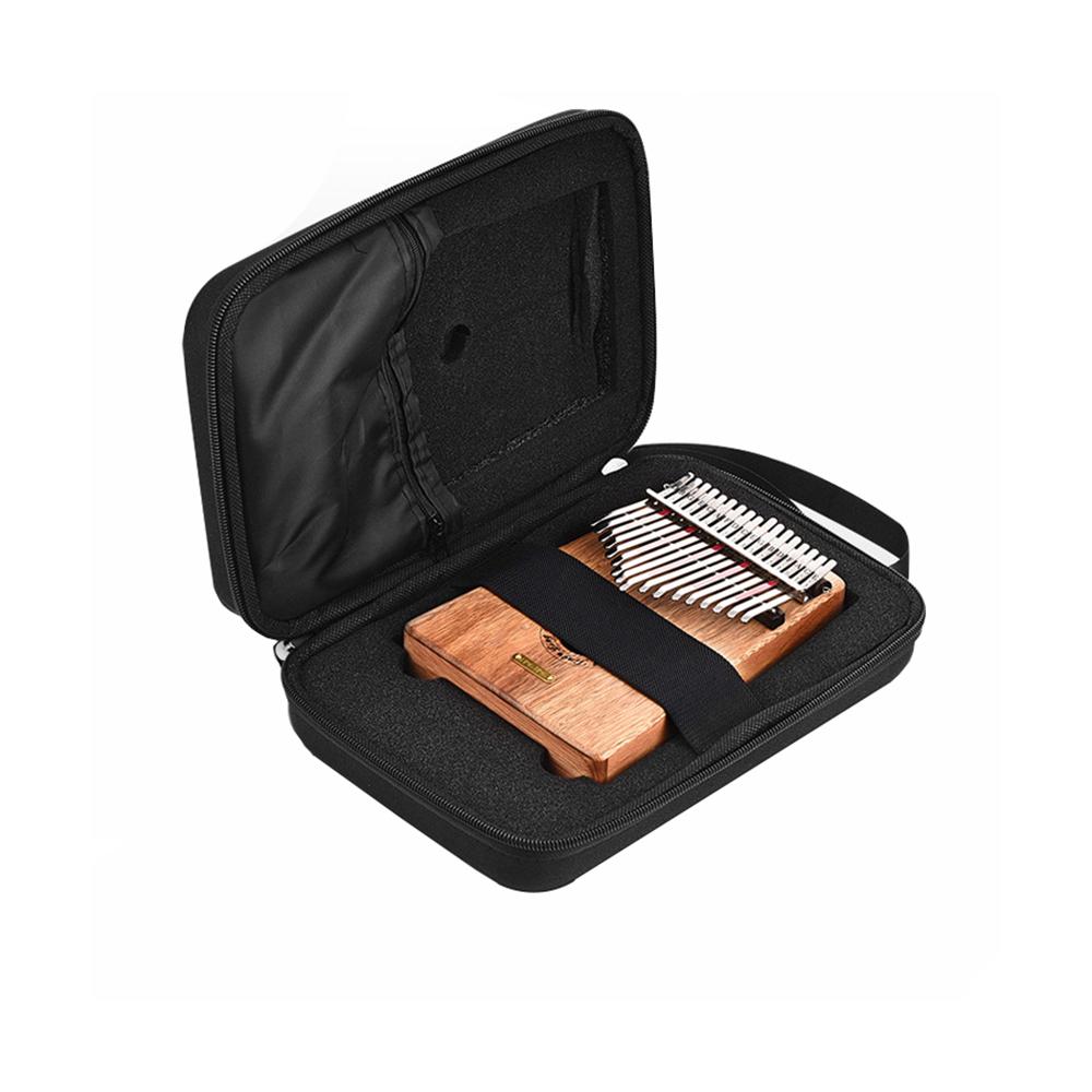 10 Keys 17 Keys Kalimba Case Thumb Piano Mbira Portable Box Bag