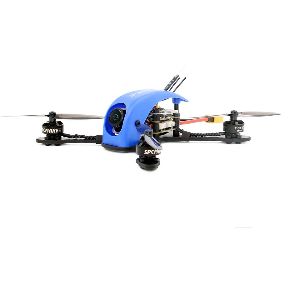 SPC Maker Killer Whale 115mm F4 2-3S Whoop FPV Racing Drone PNP BNF w/ 1103 8500KV Runcam Nano 2 Camera