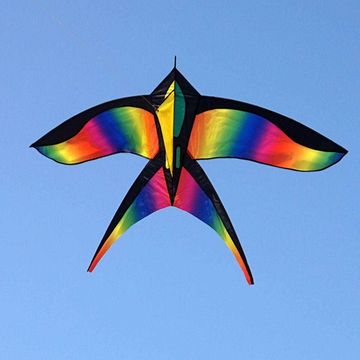 68in Swallow Kite Bird Kites Single Line Outdoor Fun Sports Toys Delta For Kids