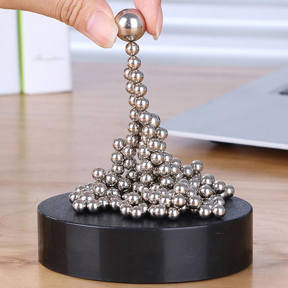 Magnetic Sculpture Desk Toys Decor Art Sculpture Kids Educational Toys Craft Sculpture Figurines