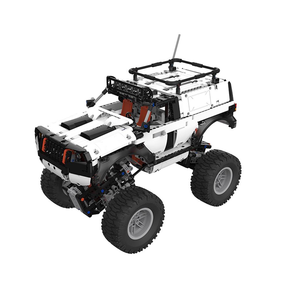 XiaoMi Mitu DIY 4WD Programmable Building Block APP Control Smart Off-Road Vehicle RC Robot Car