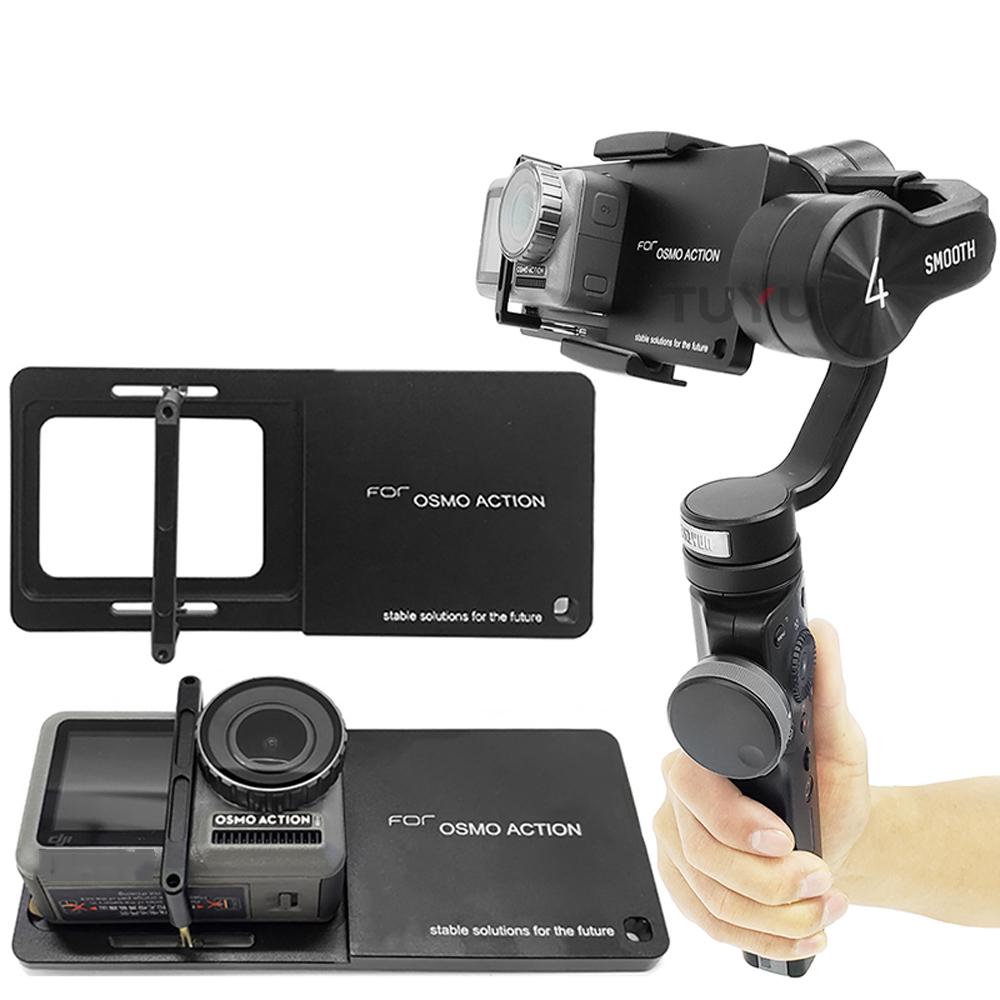 Gimbal Adapter Mount Bracket Universal Fo DJI OSMO Gopro3/3+/4/5 Xiaomi Yi 4K SJcam Meegou Sport Camera