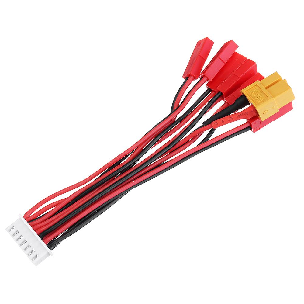 22AWG 10cm JST Plug XT60 Plug Lipo Battery Balance Charger Cable