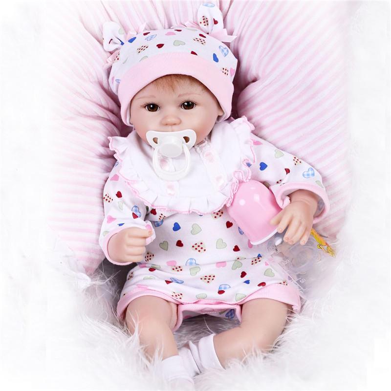 "NPKDOLL 12.6 42cm Handmade Baby Lifelike Doll Newborn Reborn Toy"""