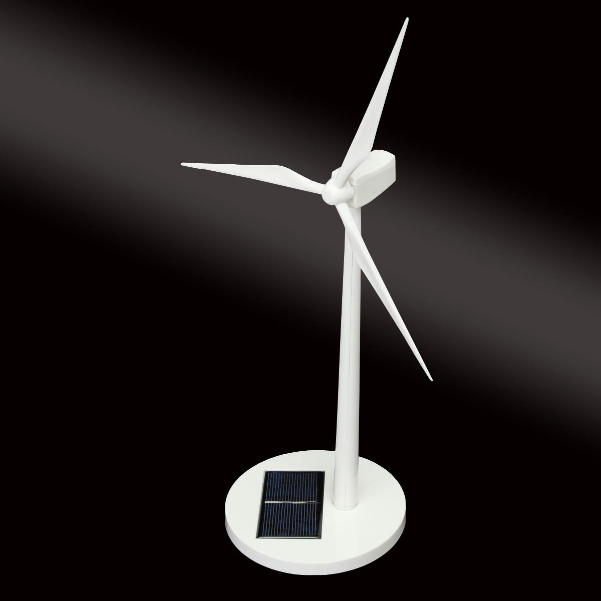 New Science Toy Desktop Model-Solar Powered Windmills/Wind Turbine & ABS plastics