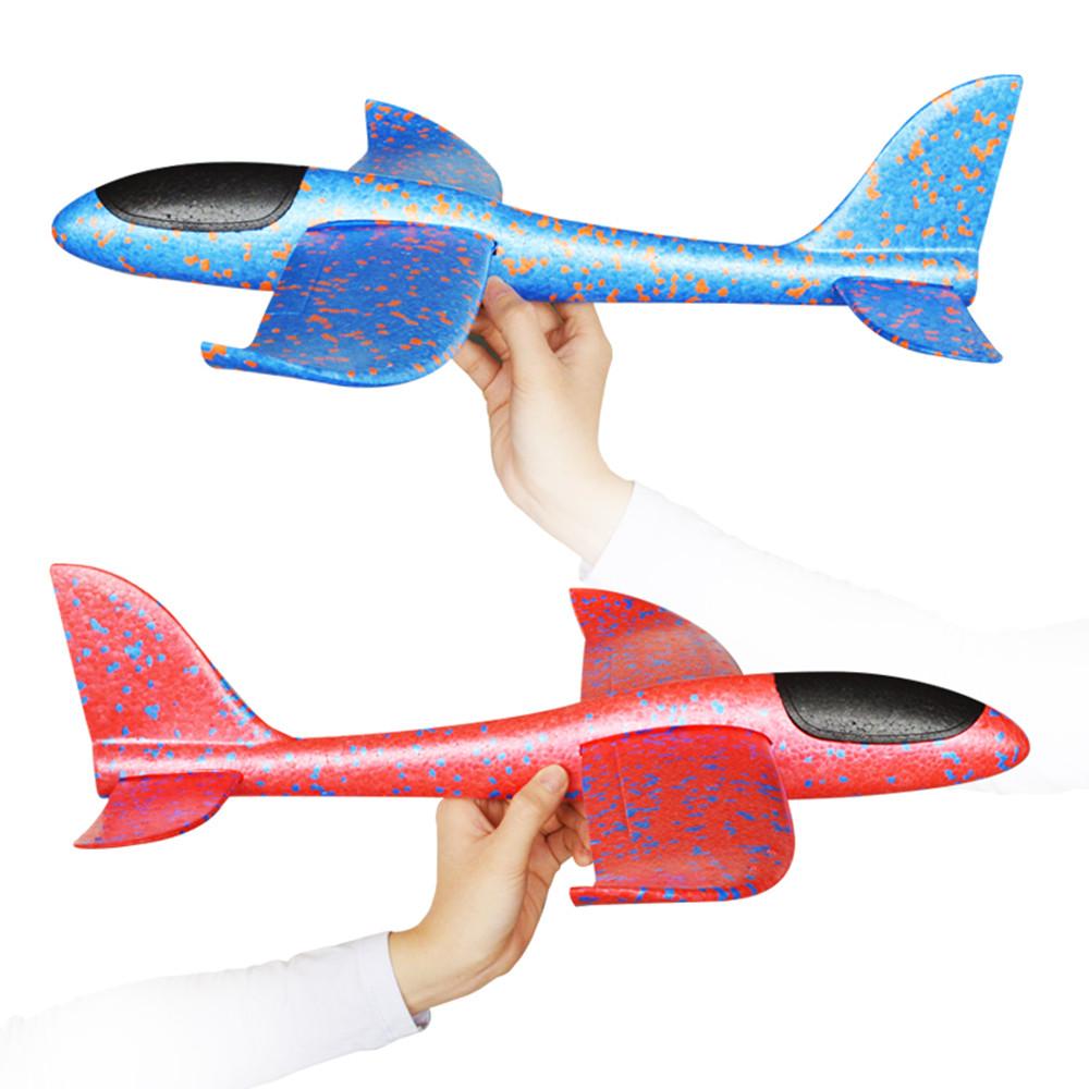 48cm Big Size Hand Launch Throwing Aircraft Airplane Glider DIY Inertial Foam EPP Children Plane Toy