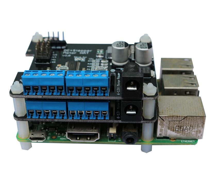 Raspberry Pi 3 Motor Driver Stepper Motor HAT Robot Expansion Board