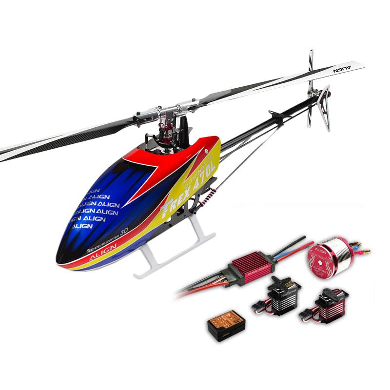 ALIGN T-REX 470LT Helicopter Dominator Super Combo 450L Upgrade Version