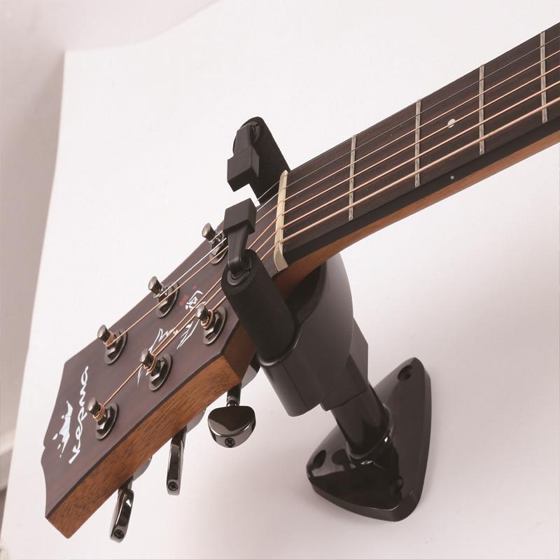 Zebra Guitar Wall Mount Stand Hook For Bass Ukulele Guitar
