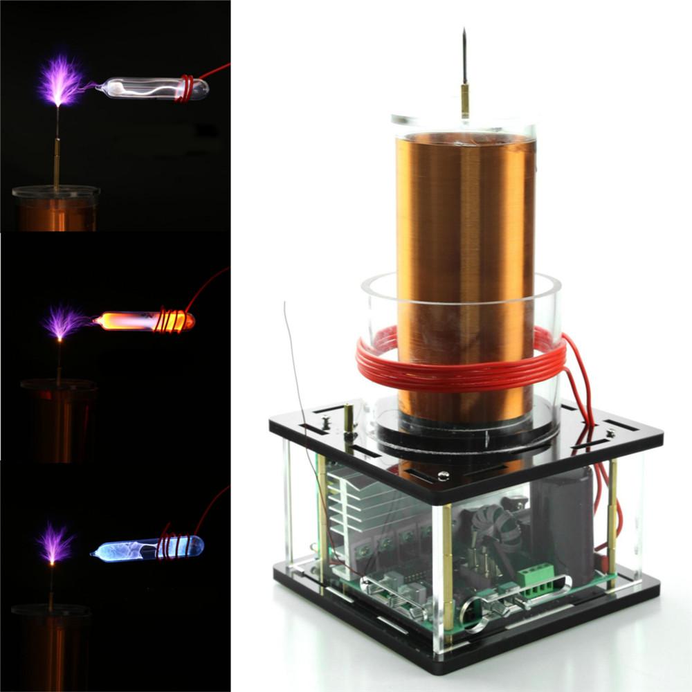 STARK-44 Tesla Coil Module Solid Music High Power DIY Lightning Model Educational Toy 12V