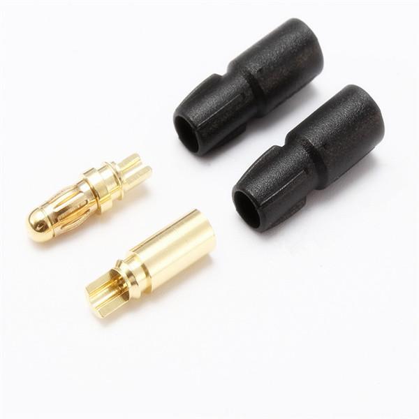 AMASS SH3.5 3.5mm Male/Female Bullet Connector Gold-Plateda?copper Banana Plug