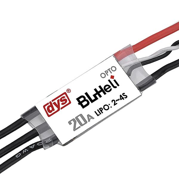 DYS BL20A Mini 20A BLHeli ESC OPTO 2-4s for QAV160 180 250 300 330 RC Drone FPV Racing