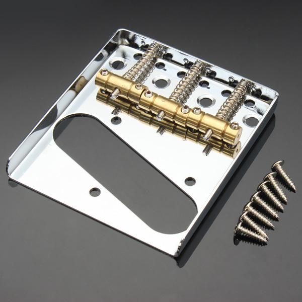 TL Guitar Tailpiece Guitar Bridge Singal Coil Copper Tailpiece