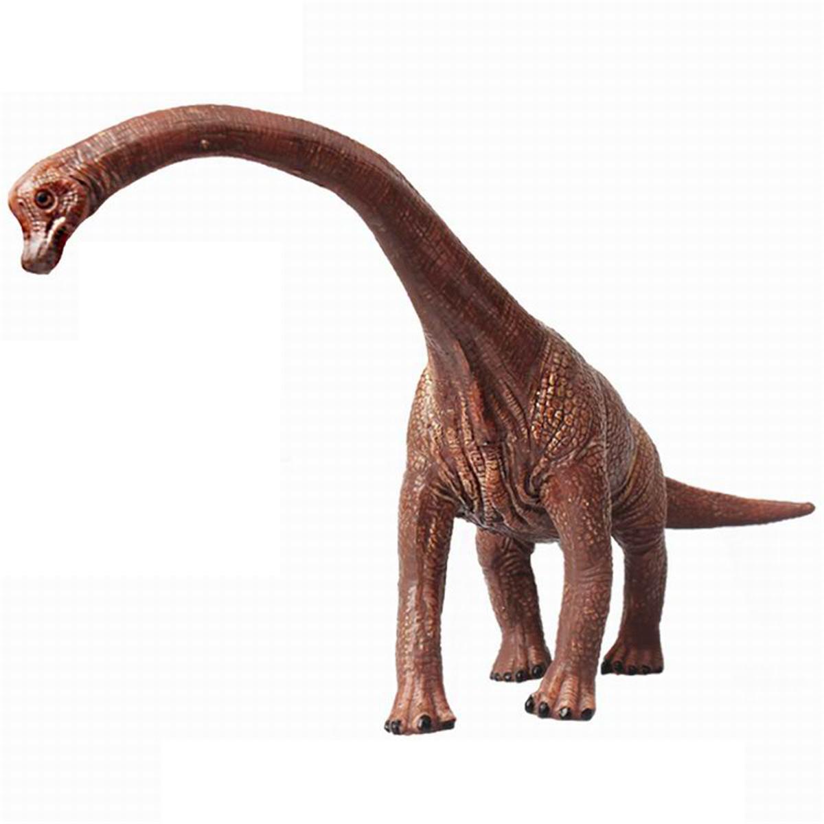 Educational Large Brachiosaurus Dinosaur Toy Diecast Model Birthday Gift For Boy Kids