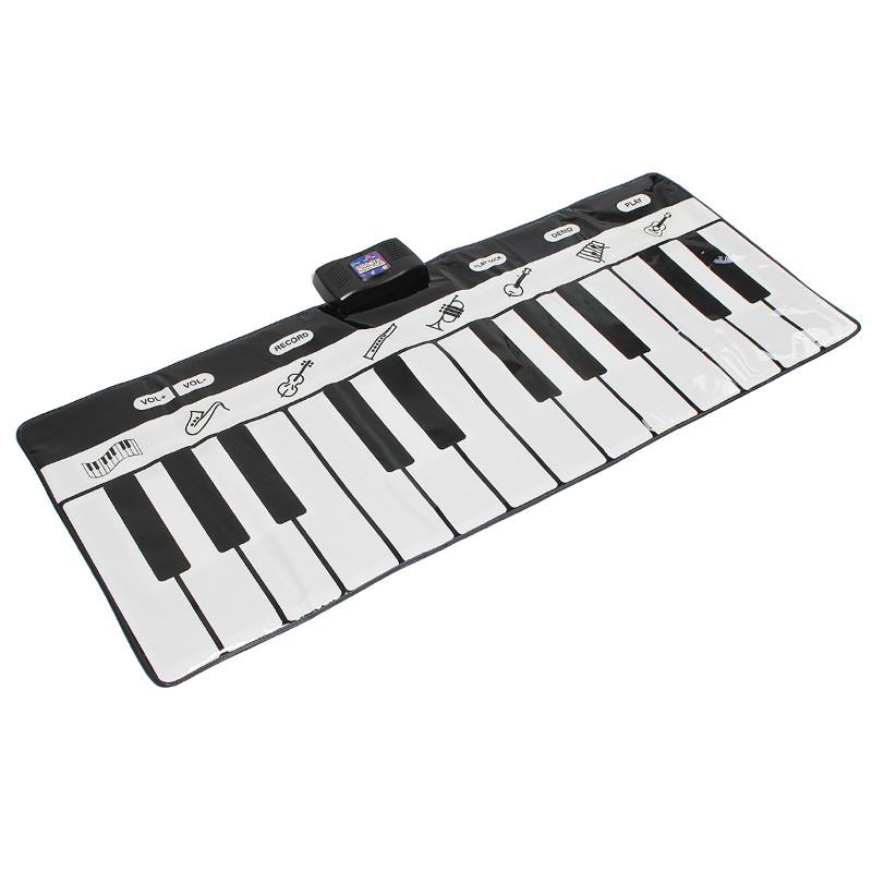 24 Keys Piano Music Keyboard Mat Playmat Dance Musical Toys