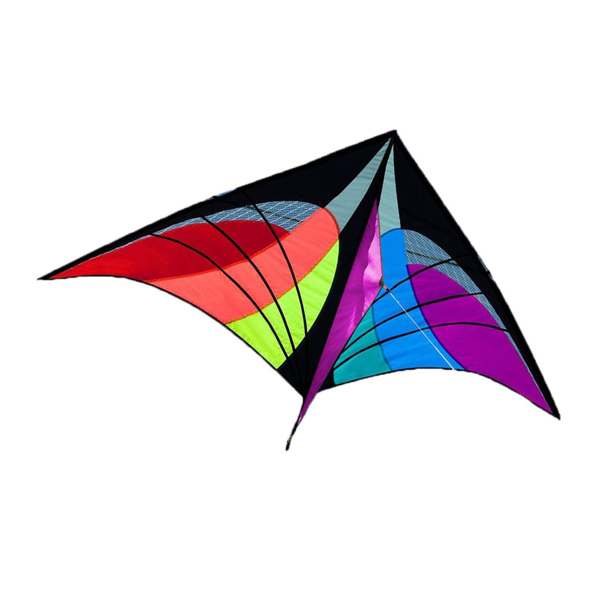 NEW 5.2ft Delta Triangle Kite Outdoor Fun Sports Toys Single Line